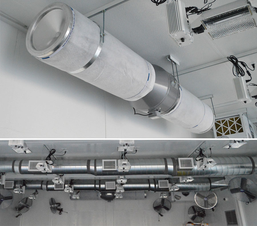 Filtration systems, fans and HVAC can all be customized.