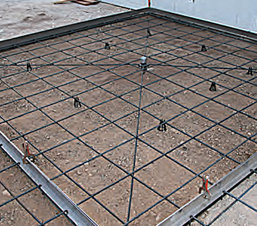 Xtreme X-Form™ concrete slab system for creating foundations, fast.