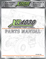 XR4030 Cummins Tier 4 Final Parts Manual