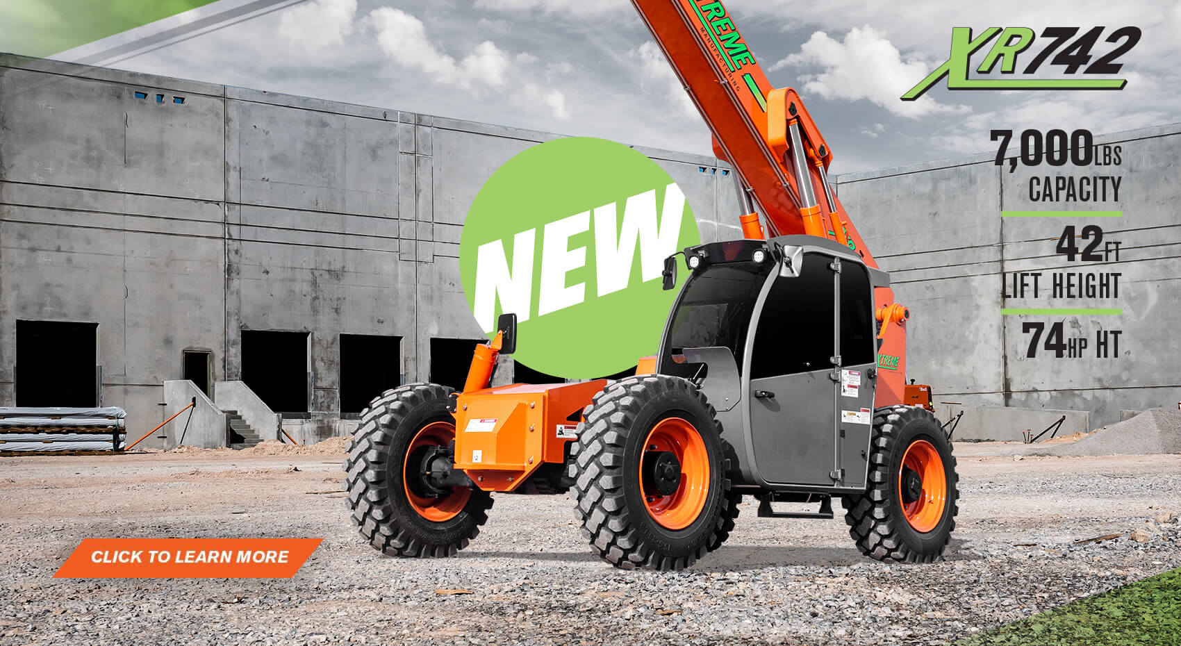 Heavy Equipment For Construction | Xtreme Manufacturing