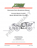 Parts Manuals Archive | Xtreme Manufacturing on